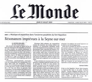 Article Presse Le monde 1